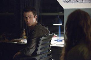 Tredici: l'attore Dylan Minnette in una foto della seconda stagione
