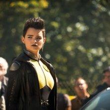 Deadpool 2: Brianna Hildebrand in un momento del film