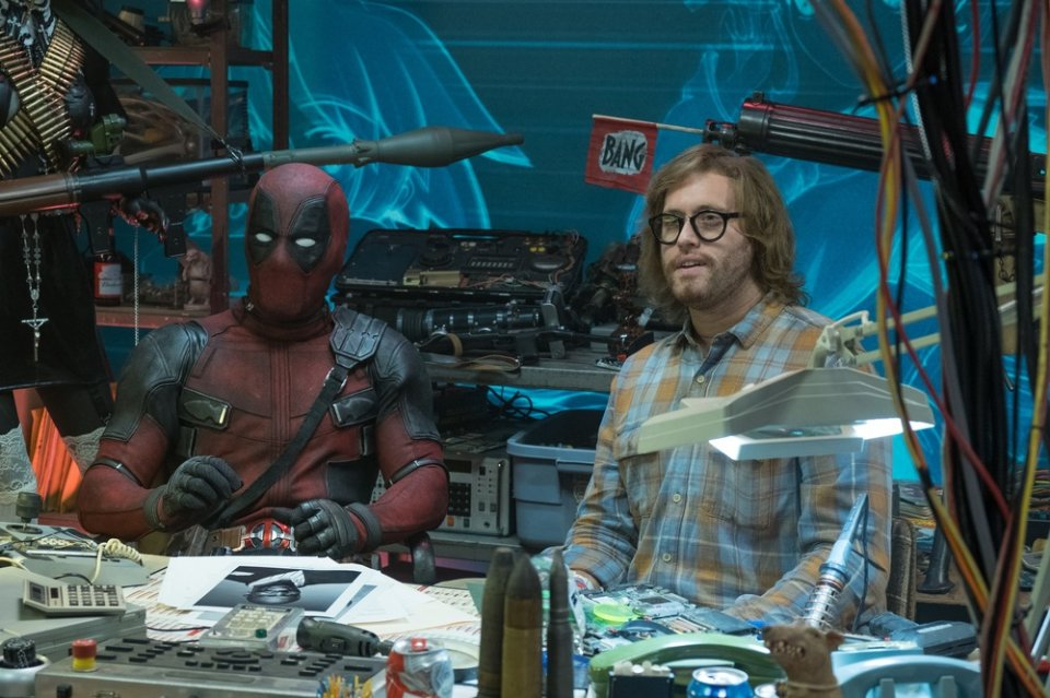 Deadpool 2: Ryan Reynolds e T.J. Miller in una scena del film
