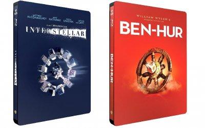 Ecco le bellissime Iconic Moments Steelbook: uno sguardo da vicino a Interstellar e Ben Hur