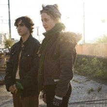 Lazzaro felice: Adriano Tardiolo e Alba Rohrwacher in una scena del film
