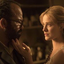 Westworld: Evan Rachel Wood e Jeffrey Wright in Virtù e Fortuna