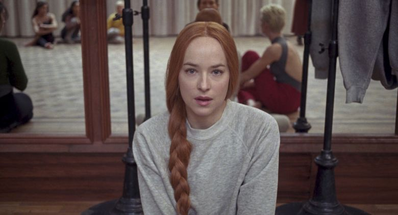 Suspiria: Dakota Johnson in una foto del film