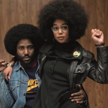 BlackkKlansman: John David Washington e Laura Harrier in una foto