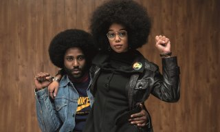 BlackkKlansman: John David Washington e Laura Harrier in una foto