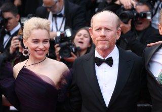 Cannes 2018: Emilia Clarke e Ron Howard sul red carpet di Solo: A Star Wars Story