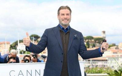 John Travolta a Cannes: i 40 anni di Grease e il ballo con 50 Cent in stile Pulp Fiction