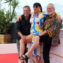 The Man Who Killed Don Quixote, Terry Gilliam scherza con Rossy De Palma e Sergi Lopez