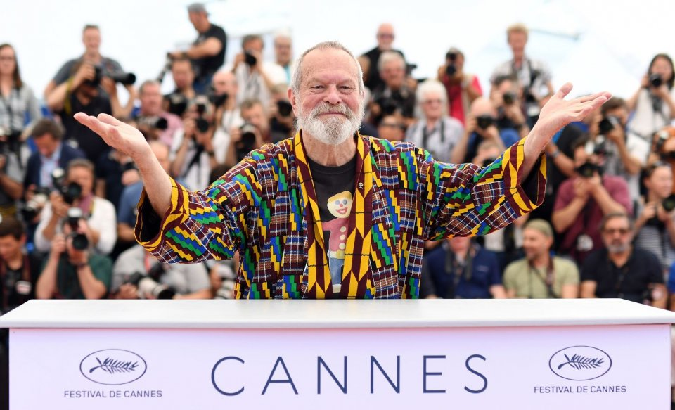 The Man Who Killed Don Quixote, Terry Gilliam a Cannes 2018