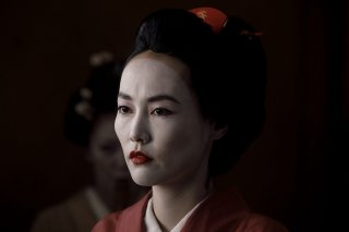 Westworld: Rinko Kikuchi  nell'episodio Akane No Mai