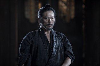 Westworld: Hiroyuki Sanada in una scena dell'episodio Akane No Mai