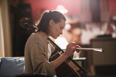 Resina: Maria Roveran in un momento del film