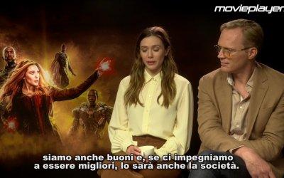 Avengers: Infinity War - Intervista a Elizabeth Olsen e Paul  Bettany