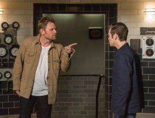 Supernatural: Alexander Calvert e Mark Pellegrino nell'episodio Let the Good Times Roll