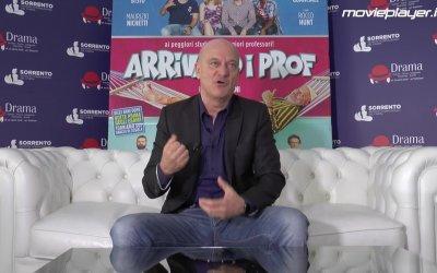 Arrivano i prof: intervista a Claudio Bisio