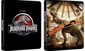 Jurassic Park: su Amazon tutte le nuove Steelbook della saga