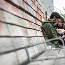 Al massimo ribasso: Matteo Carlomagno e Viola Sartoretto in una scena del film