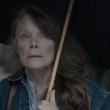 Castle Rock: un intenso primo piano di Sissy SPacek