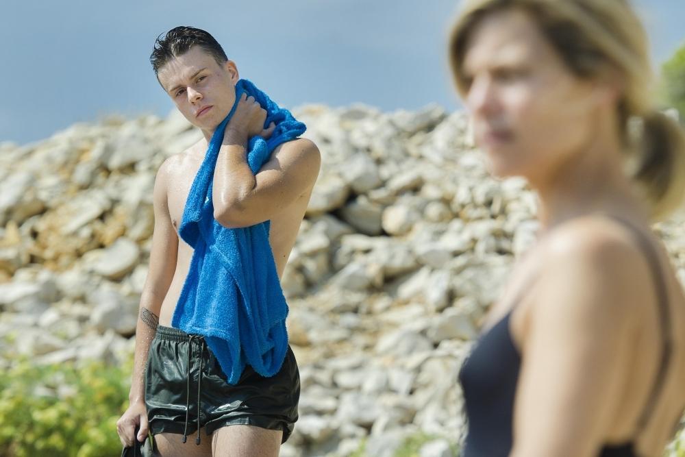 L'atelier: Marina Foïs e Matthieu Lucci in un'immagine del film