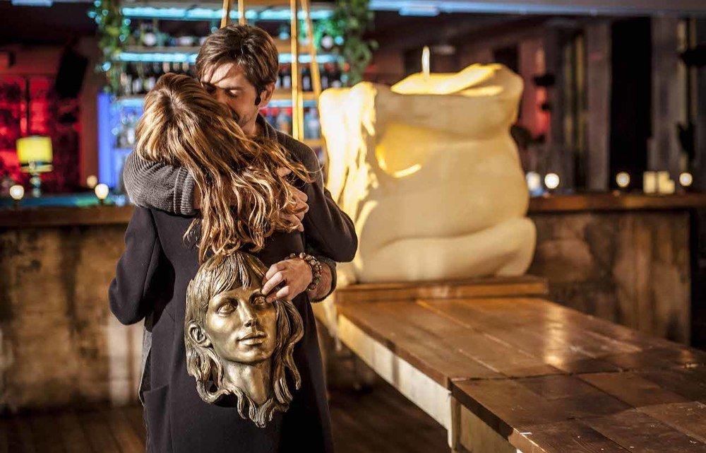 Malati di sesso: Gaia Bermani Amaral e Francesco Apolloni in una scena del film