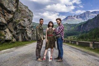 Una vita spericolata: Lorenzo Richelmy, Matilda De Angelis ed Eugenio Franceschini in un'immagine promozionale del film