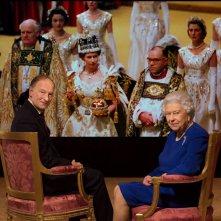 La Regina Elisabetta II con Alastair Bruce