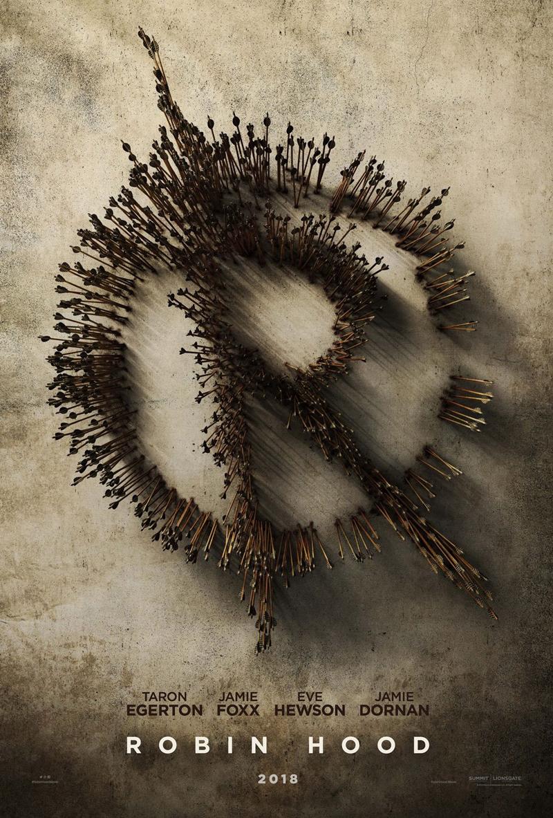Robin Hood: un nuovo poster del film svela il simbolo del fuorilegge