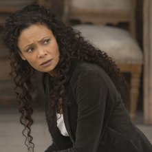 Westworld: Thandie Newton in una scena dell'episodio Phase Space