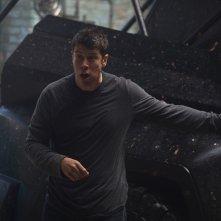 Hurricane - Allerta uragano: Toby Kebbell in un momento del film
