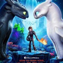 How To Train Your Dragon 3: il poster del film