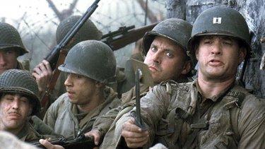Una scena di Salvate il soldato Ryan