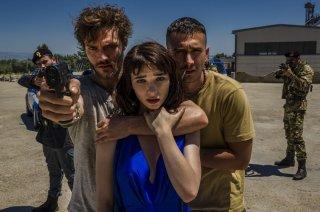 Una vita spericolata: Lorenzo Richelmy, Eugenio Franceschini e Matilda De Angelis in un momento del film