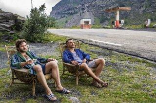 Una vita spericolata: Lorenzo Richelmy e Eugenio Franceschini in una scena del film