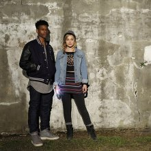 Cloak & Dagger: un'immagine promozionale di Olivia Holt e Aubrey Joseph