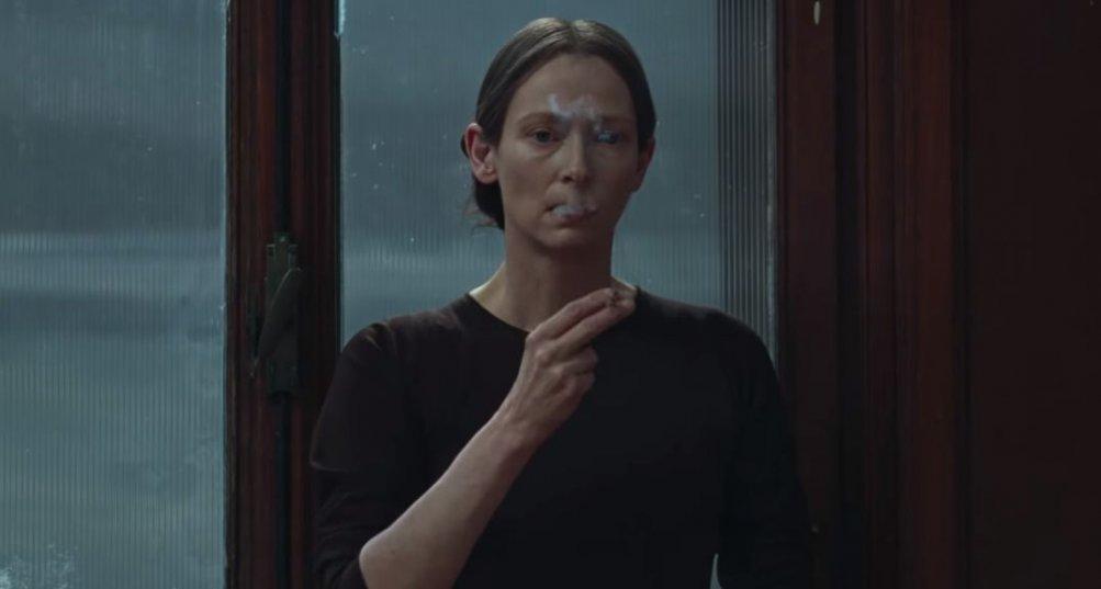 Tilda Swinton in Suspiria (2018) immagine dal trailer