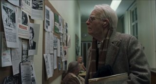 Suspiria - il dottor J. Klemperer una scena del trailer del remake