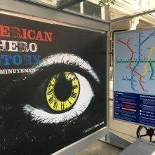 Watchmen: una fermata d'autobus sul set
