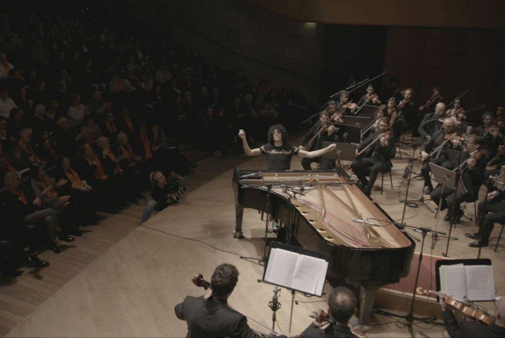 Giovanni Allevi - Equilibrium: The Film Concert, Allevi in una scena del film