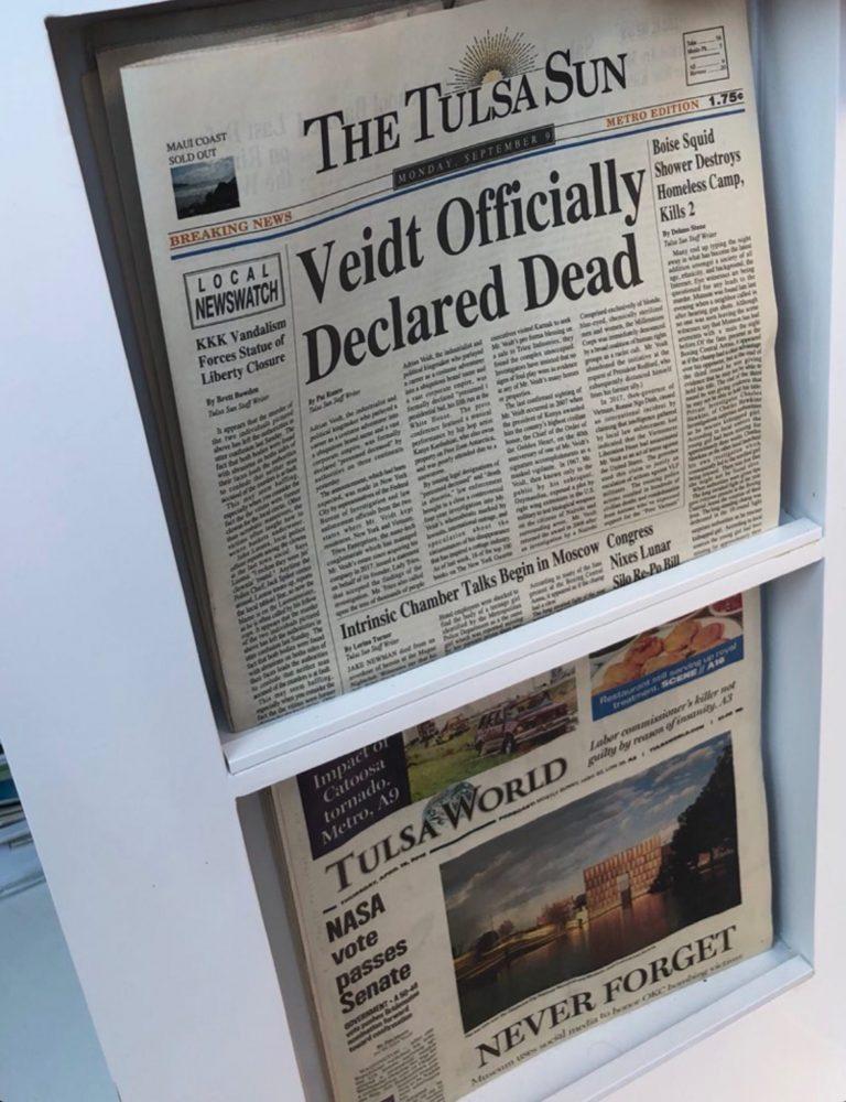 Watchmen: ecco il falso quotidiano che annuncia un notevole spoiler