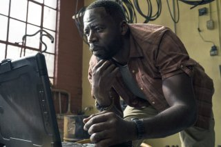 The Brave: Demetrius Grosse in una scena
