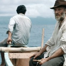 Gauguin: Voyage to Tahiti, Vincent Cassel in mare