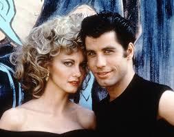 Grease: Olivia Newton-John e John Travolta in un'immagine promozionale del film