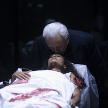 Westworld:  Anthony Hopkins in una scena dell'episodio Vanishing Point
