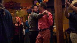 A Modern Family: Steve Coogan e Paul Rudd in una scena del film