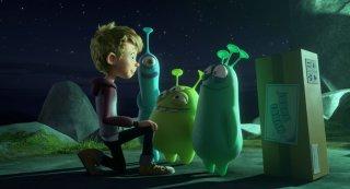 Luis e gli alieni: una scena del film animato