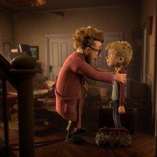 Luis e gli alieni: un'immagine tratta dal film d'animazione