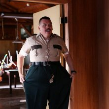 Super Troopers 2: Kevin Heffernan in una scena del film