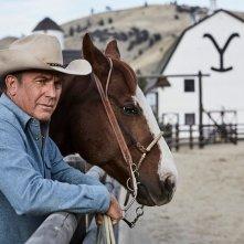 Yellowstone: una scena con Kevin Costner