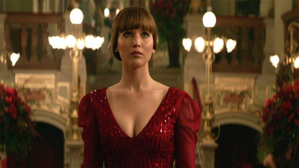 Red Sparrow: una scena con Jennifer Lawrence