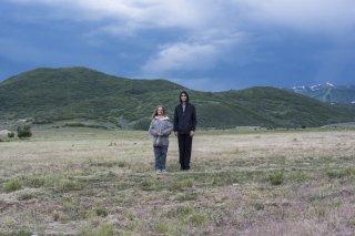 Hereditary: Alex Wolff e Milly Shapiro in una scena del film